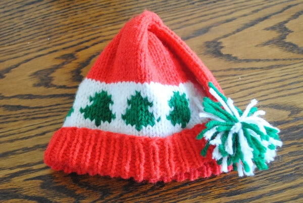 Free Crochet Christmas Tree Hat : Free Christmas Crochet Hat Pattern Trees Go Round- baby ...
