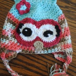 free crochet hat pattern winky winky the owl