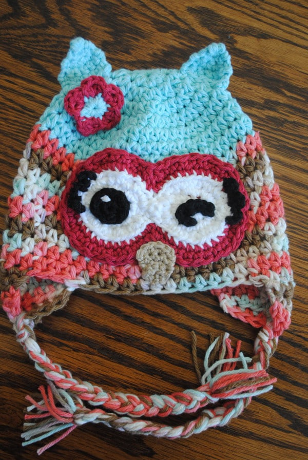 Free Crochet Owl Hat Pattern Winky Winky The Owl Awesome Free Owl Hat Knitting Pattern