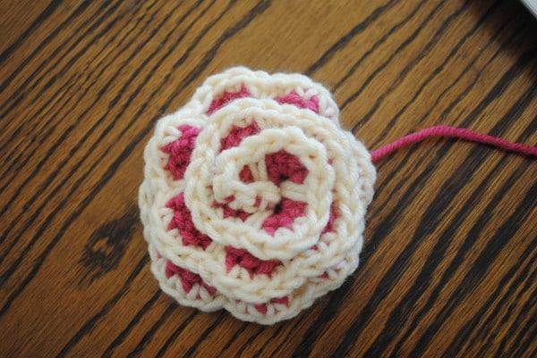 Free Spring Crochet Flower Pattern