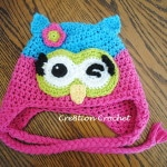 12-24mo free owl hat pattern