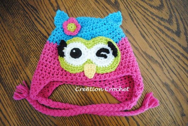 Free Crochet Owl Hat Pattern For Baby : Free Owl Hat Crochet Patterns submited images.