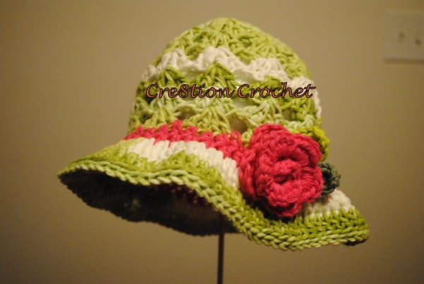 Crochet Baby Easter Hat Patterns : Free Easter Crochet Hat Pattern