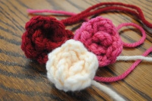 little rosette free pattern