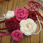 Medium Rosettes Free Pattern on Cre8tion Crochet 012