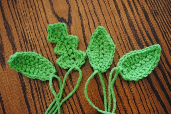 Crochet Patterns Free Leaf : leaves 101 free crochet spring patterns - Cre8tion Crochet