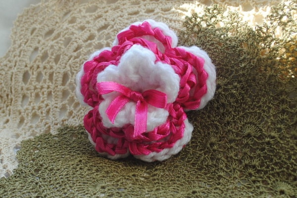 Layered Ribbon Flower