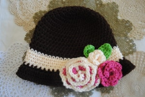 Red Heart Spring Cloche