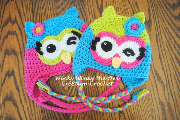 Free Crochet Owl Hat Pattern Winky Winky The Owl Delectable Free Owl Hat Knitting Pattern