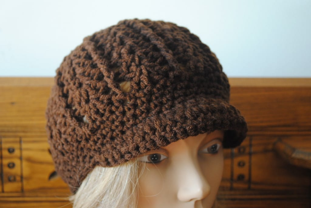 Free Newsboy Crochet Hat Pattern