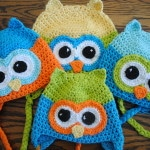 oh boy oh boy the owl free crochet hat pattern