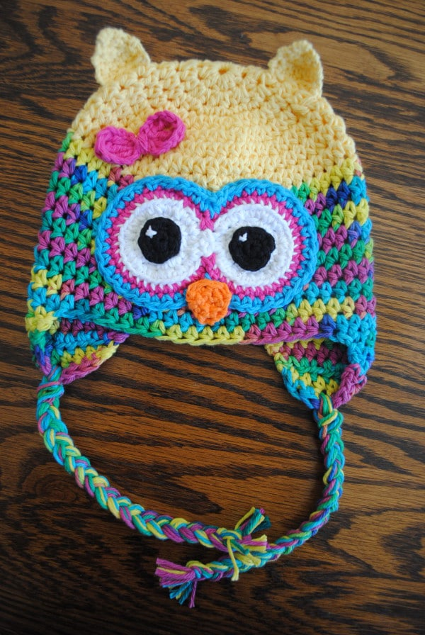 Crochet Pattern For Newborn Owl Hat : Cute Crochet Owl Hat Pattern. From cre8tioncrochet. OH MY ...