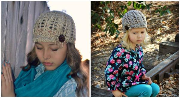 Free Hat Pattern in 3 sizes
