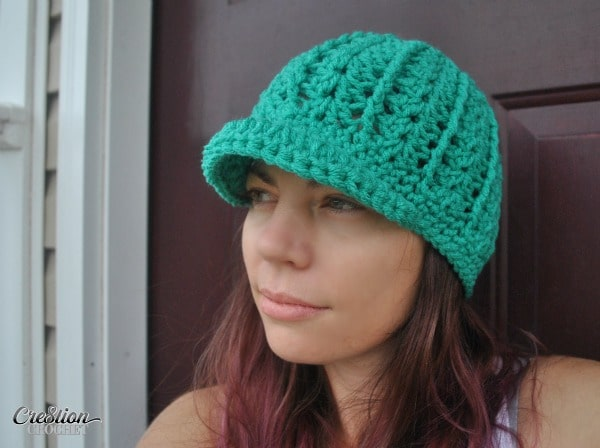 0bca4e915f1 Mary s Newsboy free hat pattern. Now available in 6 sizes. Neborn through  Adult.