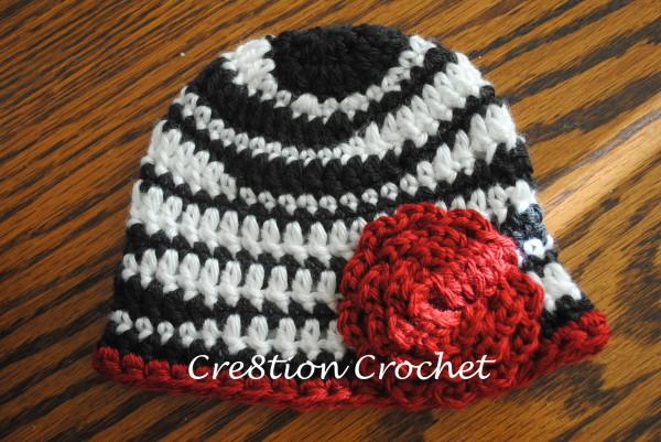 Free Zebra Newborn Hat Pattern