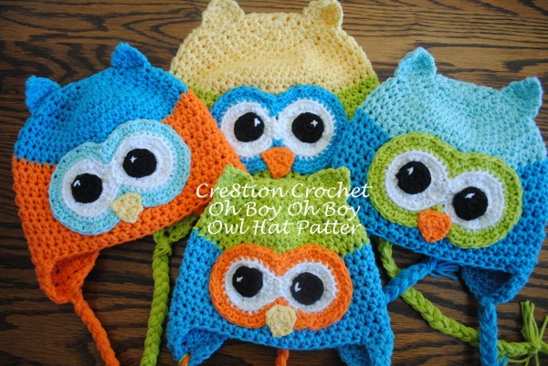 Free Crochet Owl Hat Pattern Oh Boy Oh Boy Awesome Free Owl Hat Knitting Pattern