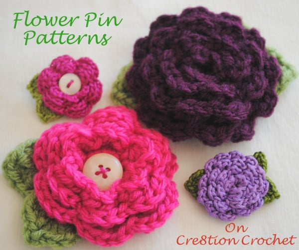 Daisy Delight Free Crochet Flower Pattern