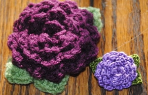 cover flower pin free pattern