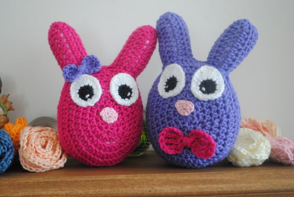 Easter Bunny Stuffy Bunny and Clyde - Cre8tion Crochet