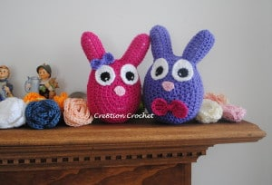 free pattern easter bunny plush