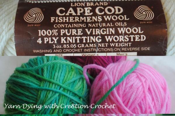 Fiber Dying- How to Dye Yarn