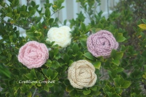 large flower free pattern cre8tion crochet