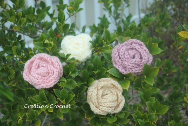 Large Crochet Rose Pattern Free : Large Roses Free Crochet Pattern - Cre8tion Crochet