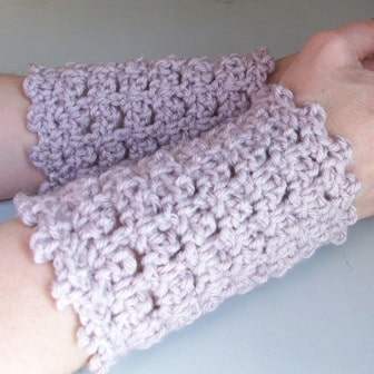 picot-armwarmers