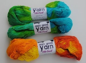 Darn Good Yarn Silk Cloud