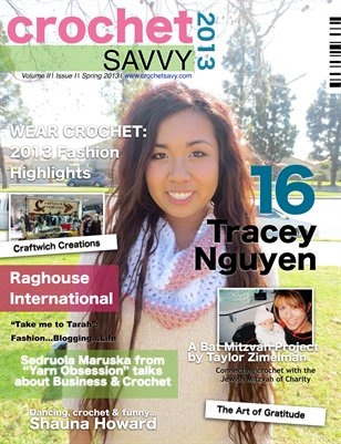 crochet savvy spring issue