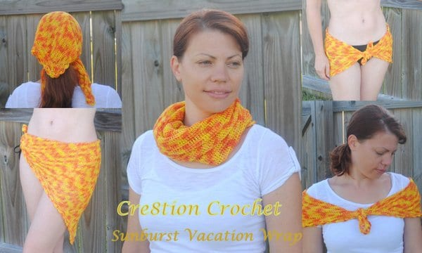 1 cover sunburst vacation scarf