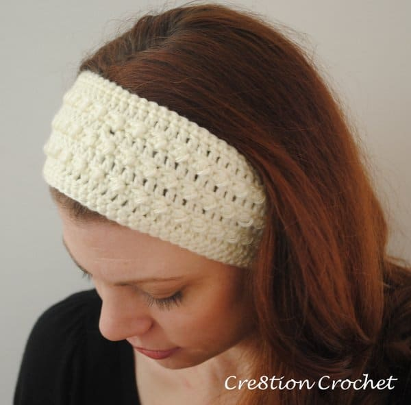 Free Adjustable Crochet Headband Pattern : Sleek and Skinny Ear Warmer/ Headband - Cre8tion Crochet