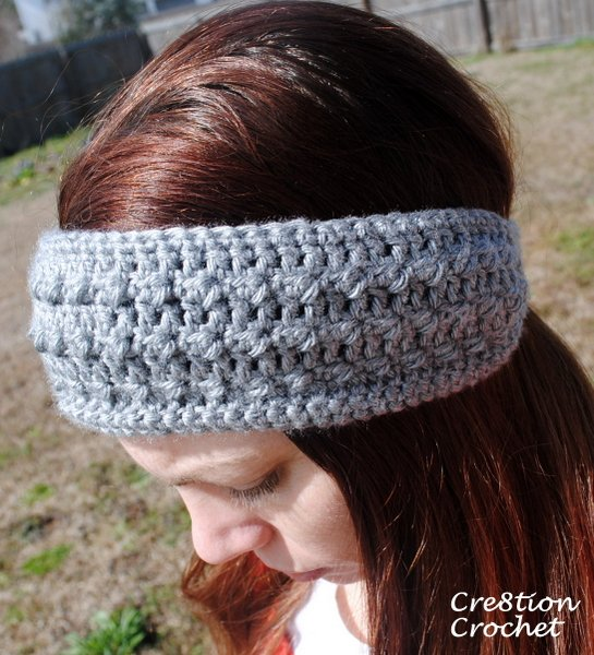 Sleek and Skinny Ear Warmer/ Headband - Cre8tion Crochet
