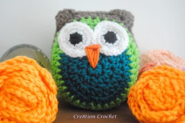 Owl Crochet Animal. Handmade Small Owl. Owl Amigurumi. Owl Stuffed ... | 401x600