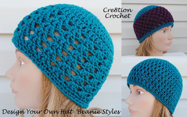 90be12238b4 How to Design your own Custom Crochet Hat - Cre8tion Crochet