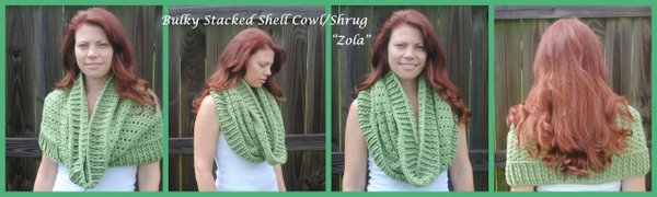 free bulky cowl and shurg crochet pattern