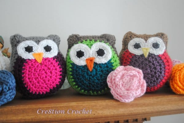 Free Crochet Pattern Small Owl : Owl Stuffy - Cre8tion Crochet
