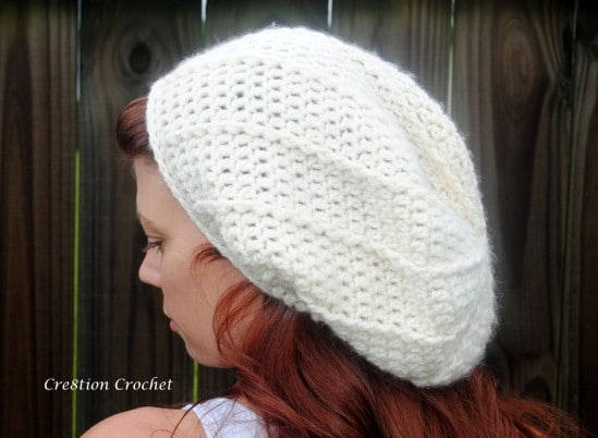 super soft slouch hat free crochet pattern