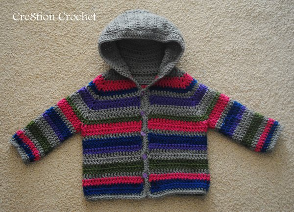toddler sweater free crochet pattern