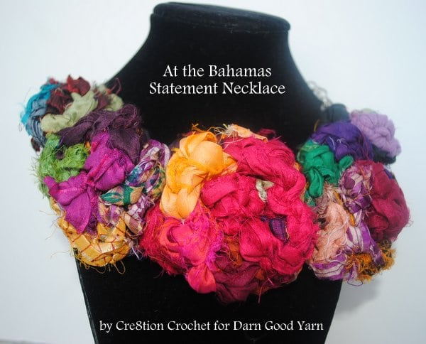 free crochet pattern by Cre8tion Crochet for Darn Good Yarn