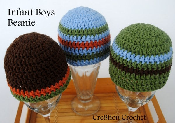 Infant Boys Beanie