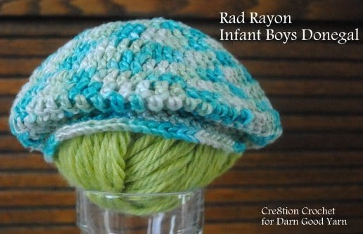 infant boys donegal free crochet pattern