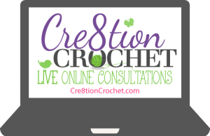 Free Live Consultation Giveaway from Cre8tion Crochet care of The Crochet Lounge!