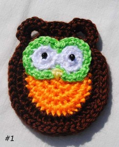 Free Crochet Pattern Owl Family : Owl Family Portrait- Five Free Applique Patterns ...