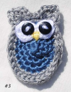 Owl Family Portrait #3 Free Crochet Pattern