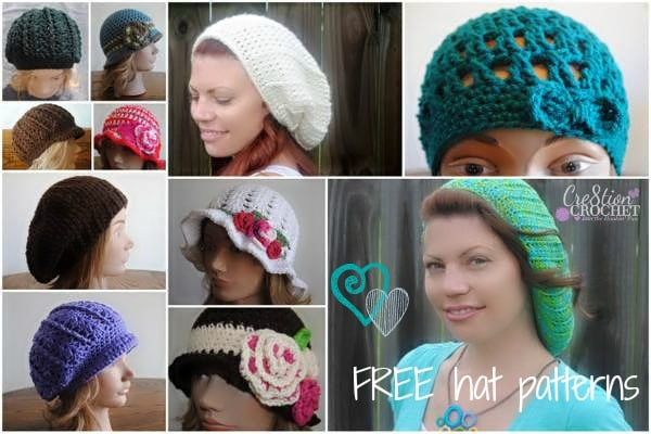 Winter is coming.  Don't forget about yourself.  Check out my FREE crochet hat patterns for women!