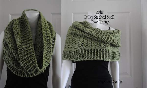 Free Crochet Scarf Patterns For Bulky Yarn : Pics Photos - Crochet Cowl Pattern With Infinity Loop
