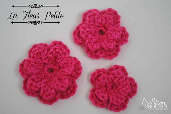 Amigurumi Flowers Free Patterns : Free crochet flower pattern cre tion crochet
