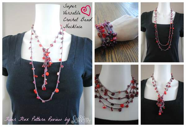 Super Versatile Crochet Bead Necklace Cre8tion Crochet