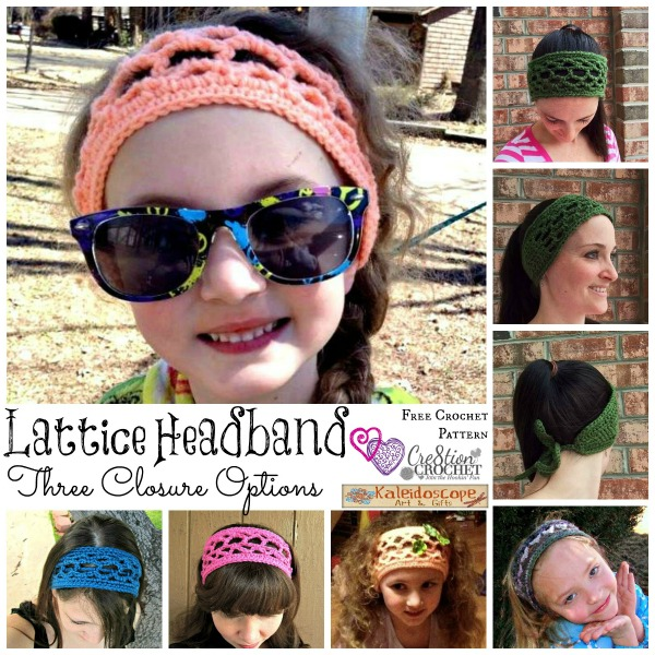 Lattice Tie Headband